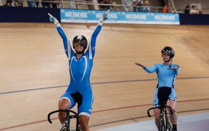 Ward joins Australia's elite with sprint win; world champions shine in scratch